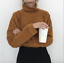Women-Cashmere-Mink-Fur-Pullover-Sweater-Oversized-Loose-Stretch-Top-Coat-Jacket thumbnail 1
