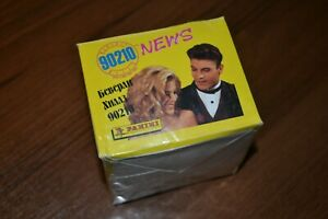Panini-Beverly-Hills-90210-News-unopened-box-50-packets-Russian-version-Rare