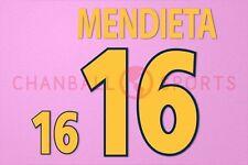 Mendieta #16 EURO 2000 Spain Homekit Nameset Printing