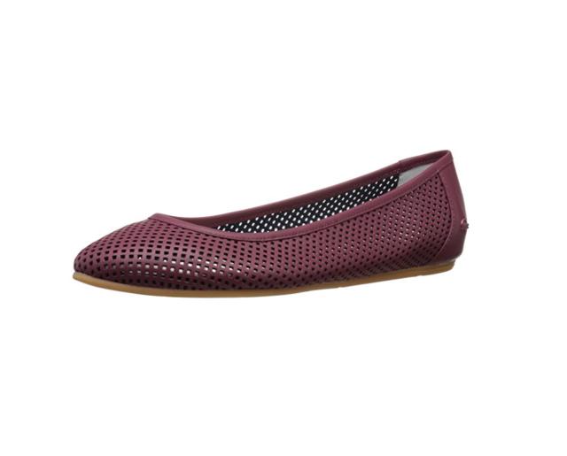 5889d1b49 Lacoste Women s Cessole 216 1 Flats Shoes 8 M Burgundy for sale ...