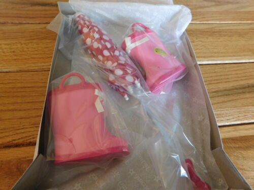 AMERICAN GIRL TRULY ME DOLL RAINY DAY SET NEW IN BOX FREE SHIPPING RETIRED