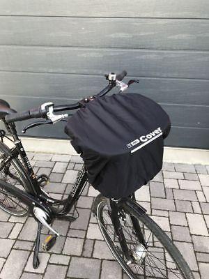 Neongelb Regenschutz Abdeckung Fahrradkorb