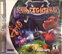 Fur Fighters (sega Dreamcast, 2000) Brand Sealed - Free U.s. Shipping - Nice
