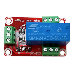 1-Channel-FR-4-24V-High-Level-Dual-Power-Relay-Module-Red-Blue
