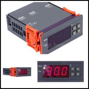 Digital-Temperature-Control-Controller-90-250V-110V-220V-10A-Thermostat-w-Sensor