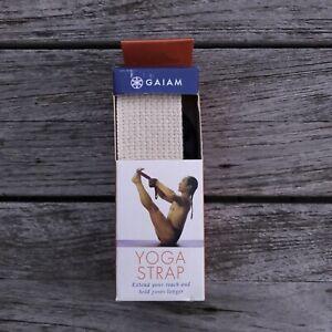 New Gaiam 100 Cotton Yoga Strap Ebay