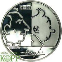 F540) Belgien 20 Euro 2007  Tim und Struppi