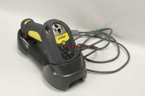 Motorola Symbol Barcode Scanner LS3578 FZ20005WR USB w//STB3578 Cradle SET