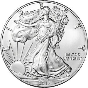 2017 American Silver Eagle (1 oz) $1 - BU