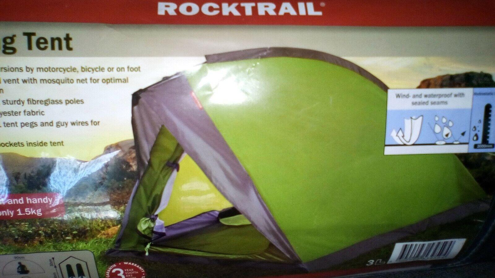 New rocktrail  2 Man Tent + 2 rocktrail  sleeping bags