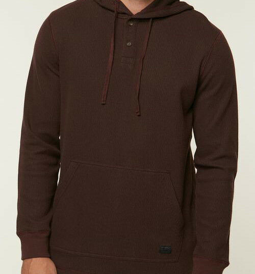 O'Neill Olympia Hooded Knit (M) Wine