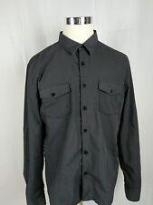 CJBlack slim fit button up shirt sixe XXL A95