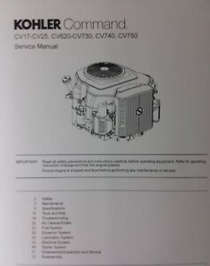 "details about kohler command engine cv17 cv18 cv20 cv22 cv23 cv25 repair shop service manual kohler ignition switch wiring diagram lawn mower repair"" kohler engine charge"
