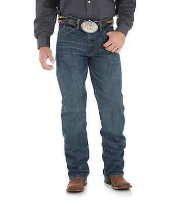 Men's Wrangler 01MWXRW 20X 01 Competition Relaxed Denim Western Blue Jean's