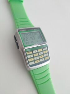 Casio-DBC-32-Limited-Discontinued-Japan-Market-Only-Green-Calculator