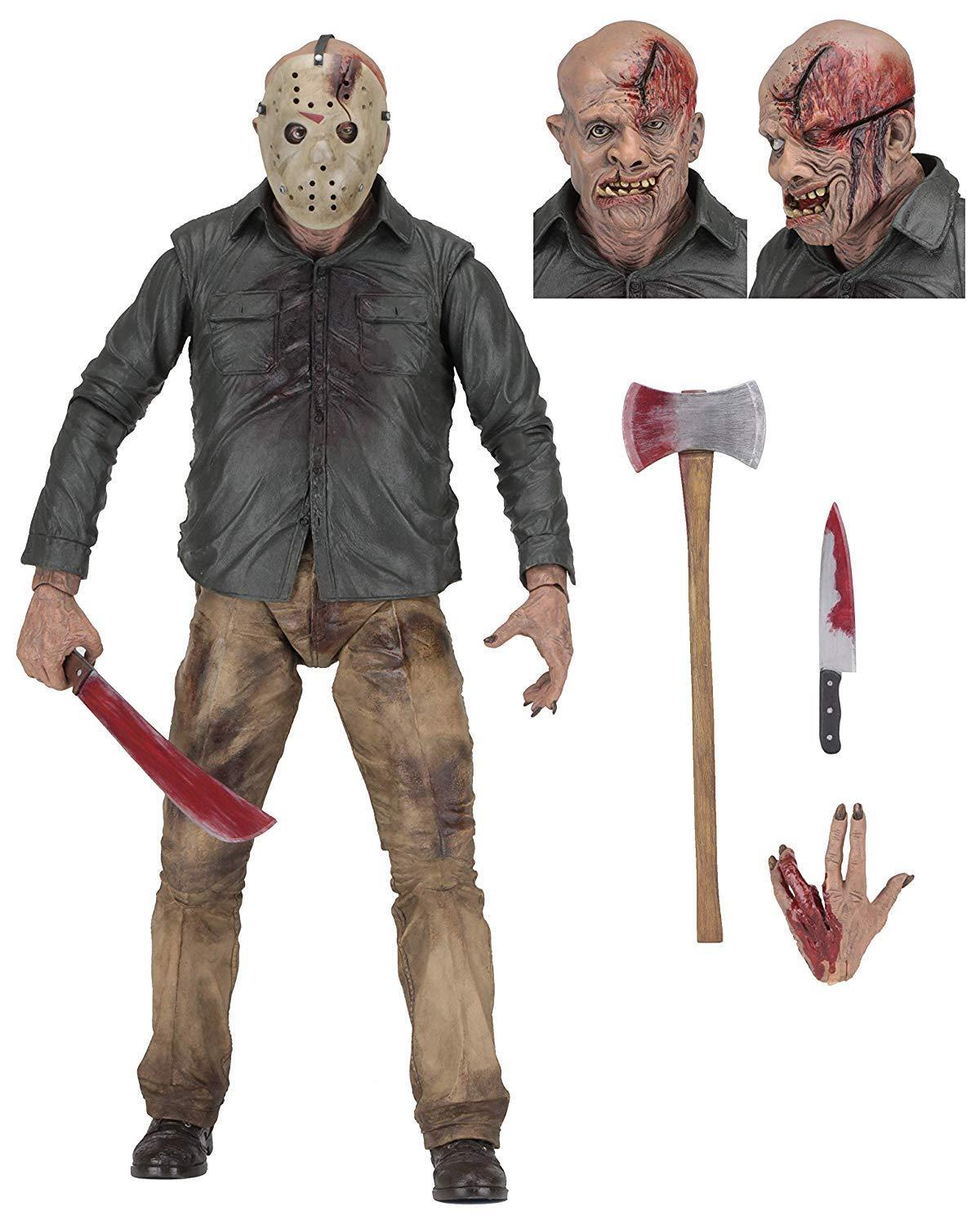 1 4 Scale Friday The 13th Part IV Jason Voorhees Neca