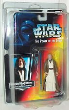 Star Wars POTF Ben Obi-Wan Kenobi Long Lightsaber Version 1995 .00 Red Card