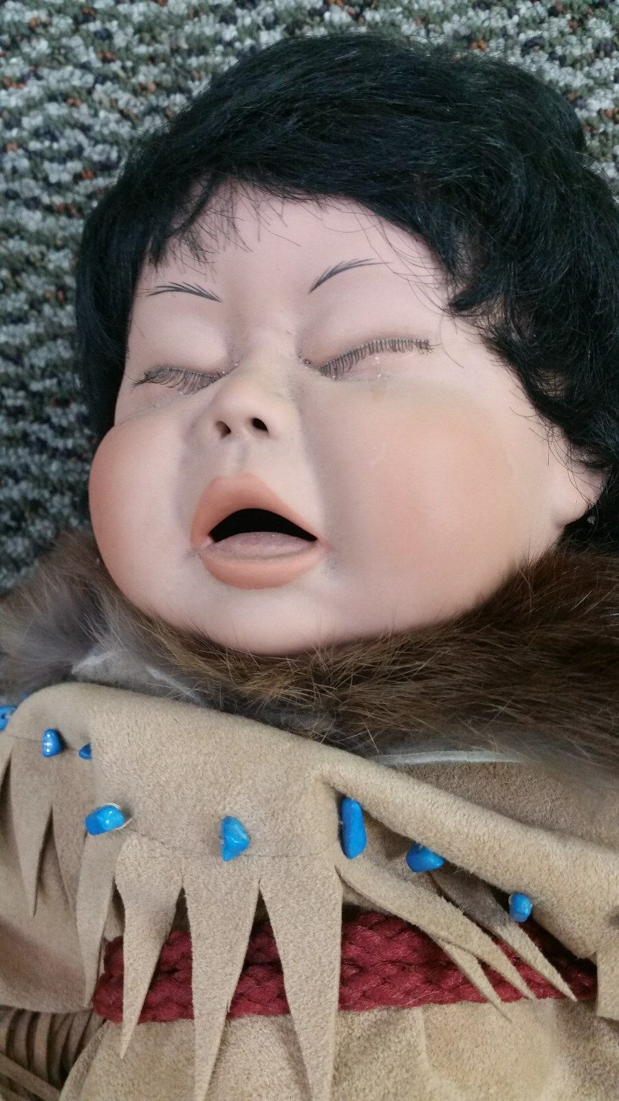 Legacy Dolls Native American Baby  Moonglow  by Terri DeHetre Limited 226 250