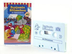 Benjamin-Bluemchen-45-als-Zirkusclown-KIOSK-Hoerspiel-MC-Kassette