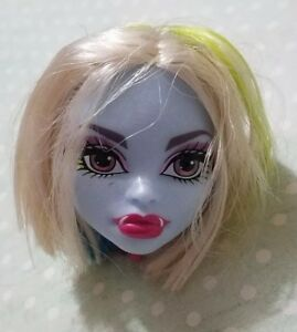 MONSTER HIGH DOLL ROLLER MAZE ABBEY BOMINABLE HEAD ONLY FOR REPLACEMENT OR OOAK