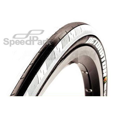 X2 Maxxis Detonator 26 x 1.50 Mountain Bike Foldable Clincher Tire Tyre - White