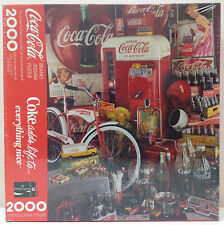 Coca-Cola 2000 piece Jigsaw Puzzle PZL9409 Coke adds life to... everything nice.