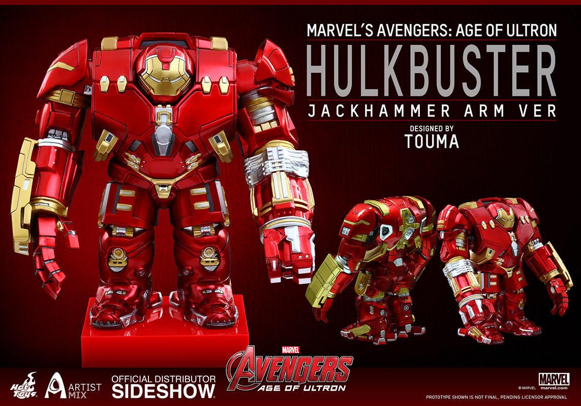Los Vengadores Edad de Ultron Hulkbuster martillo neumático brazo artista Mix Hot Juguetes Nuevo