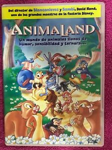 Animaland-DVD-Cartoni-Walt-Disney-Filmax-Spagnolo-Inglese-Portuguese-Am