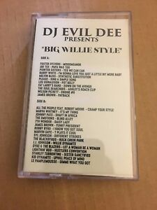 DJ-EVIL-DEE-Big-Willie-Style-CLASSIC-90s-Hip-Hop-NYC-Cassette-Mixtape-Tape