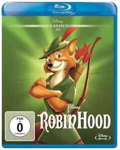 Robin HOOD (WALT DISNEY Classics) 1973 [Blu-Ray/Nuovo/Scatola Originale] Nessun COFANETTO!!!