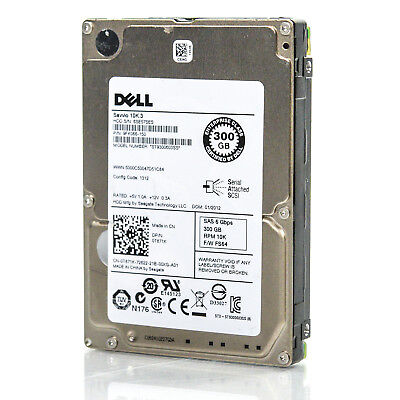 "ST9300603SS Dell C975M Seagate Savvio 10K.3 300GB Internal 10000RPM 2.5/"" HDD"