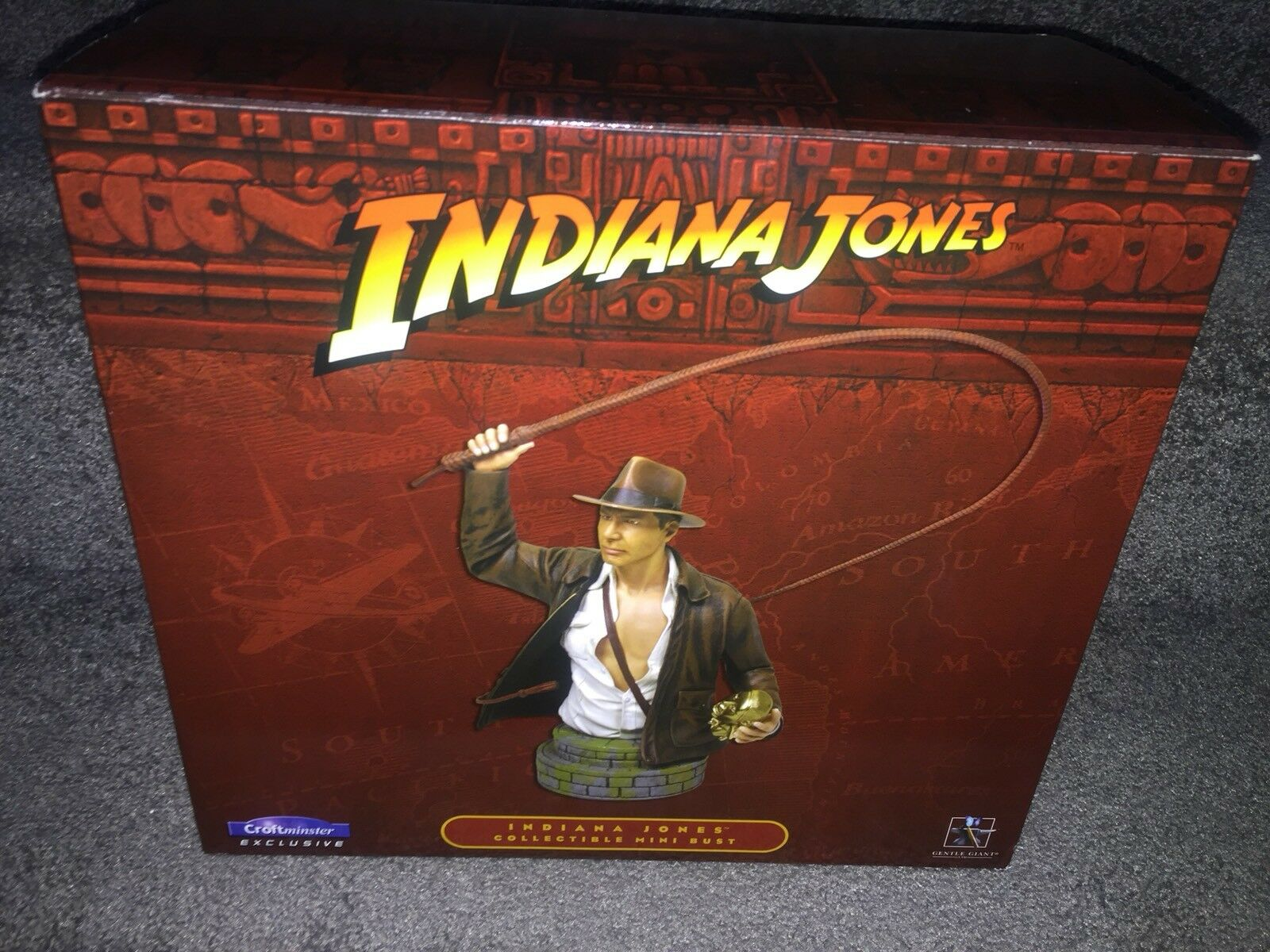 INDIANA JONES CROFTMINSTER EXCLUSIVE COLLECTIBLE MINI BUST