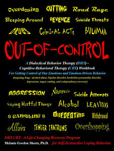 Details About Out Of Control Dbt Cbt Therapy Workbook Melanie Sheets For Aa Borderline Bipolar