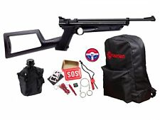 Crosman Doomsday Bug out Air Rifle Kit - 0.22 Cal Backpack Pellets Canteen Surv