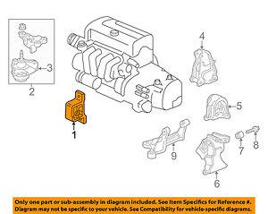 acura honda oem 02 06 rsx engine motor mount torque strut 2004 RSX Engine Diagram image is loading acura honda oem 02 06 rsx engine motor
