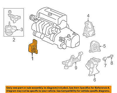 [DIAGRAM_0HG]  Acura HONDA OEM 02-06 RSX-Engine Motor Mount Torque Strut 50840S6M981 | eBay | Rsx Engine Diagram Of 03 |  | eBay