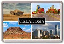 FRIDGE MAGNET - OKLAHOMA - Large - USA America TOURIST