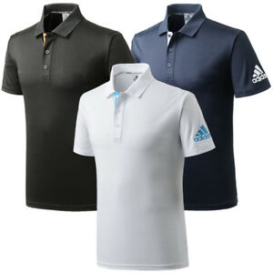 Adidas-T-shirts-Pigue-polo-shirts-II-Men-039-s-Polo-T-shirts-ADITS332