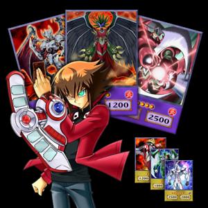 Yugioh GX Jaden Yuki OriCa Evil Heroes Anime Style Deck | eBay