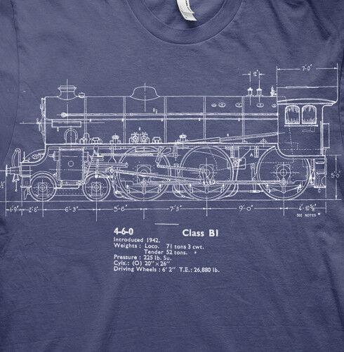 Thompson B1 LNER live steam model railways t shirt