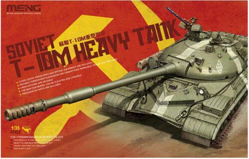 Meng Model TS-018 1//35 Soviet T-10M HEAVY TANK