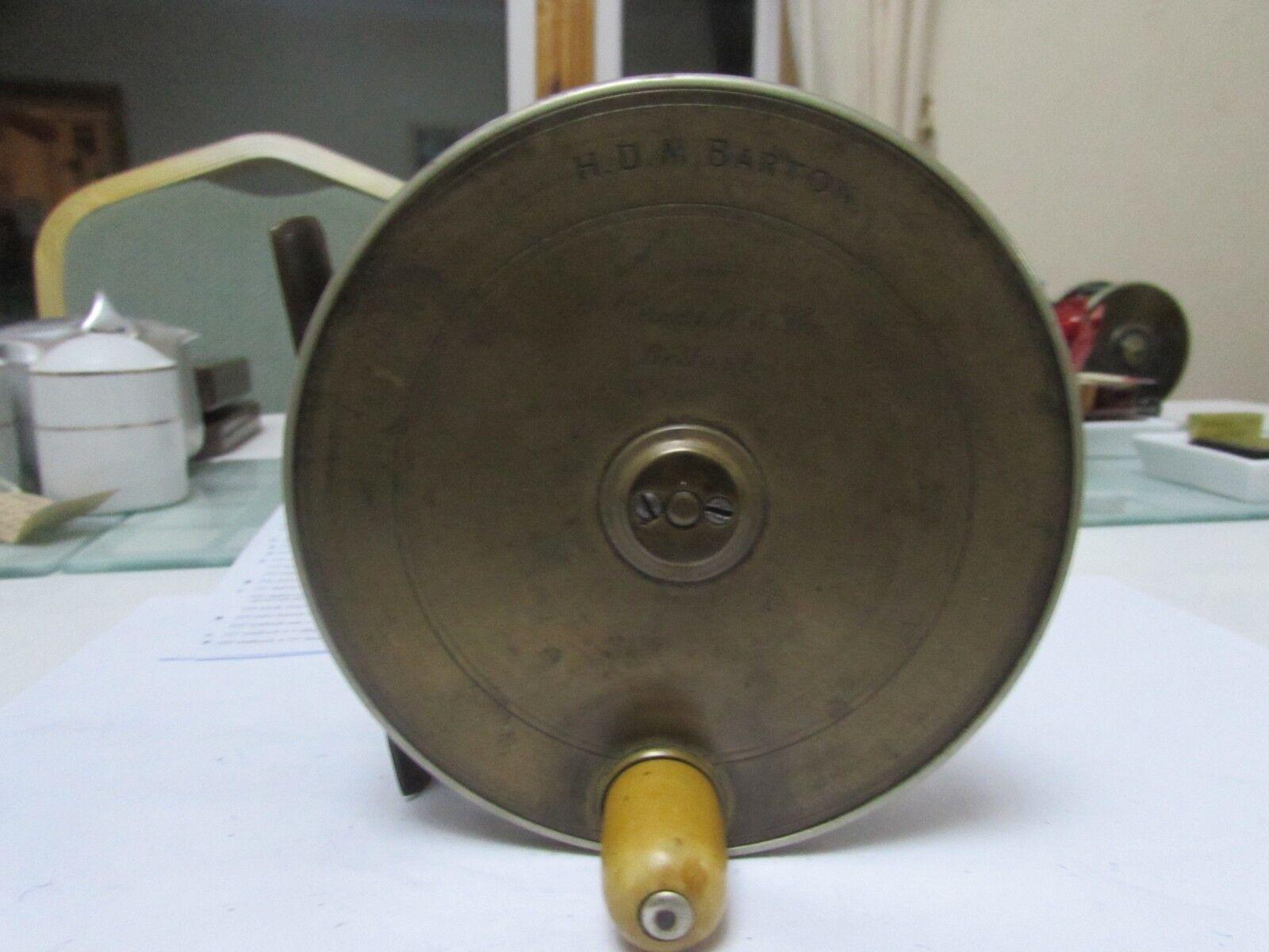 XX Rara Vintage Braddell Belfast Latón Ebonita salmón 4.5  cornonagh desalojos