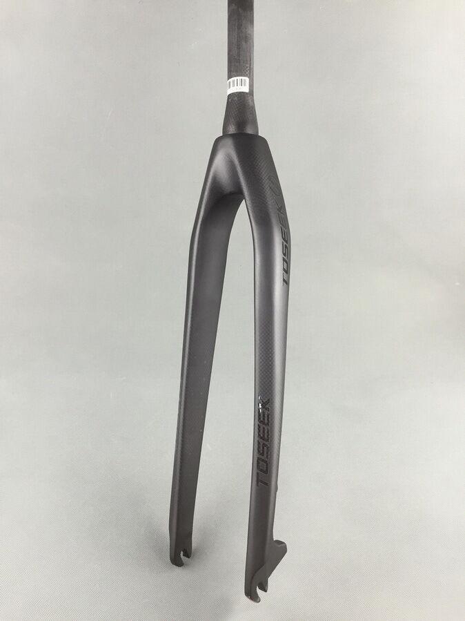 Full Carbon fibre 3K  MTB Road Bike Rigid Disc Brake Tapered Fork 26 27.5 29   100% brand new with original quality