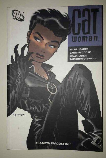 Libri Ed Brubaker - Catwoman Libri - Fumetti Planeta De Agostini - NUOVO