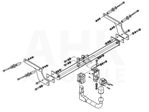 Für Dacia Duster II 2WD 4WD Anhängerkupplung abnehmbar+ESatz 13pol ABE