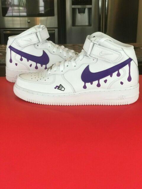 Custom Nike Air Force 1 Shoes FREE SHIPPING 10.5 10 7y 8.5 6.5y 8 6y 7.5 9.5 9