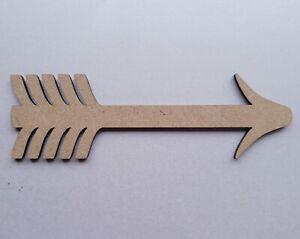 fantasy 100 mm-Craft pack de 5 Décoration 40 mm Découpe Laser Bois MDF licorne