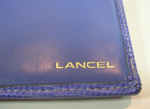 Ancien Elsa Collection Lancel Vers 1980 De Portefeuilles aEOqS