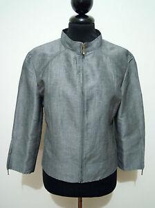 premium selection 6e958 2e446 Dettagli su MARELLA Giacca Donna Lino Seta Silk Flax Woman Jacket Blazer  Sz.S - 42