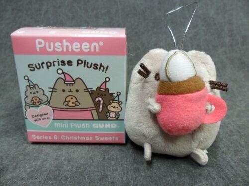 Gund Pusheen Blind Box NEW Series 8 Christmas Sweets Cat Pusheen Cocoa